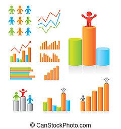 Ilustración de vectores infográficos