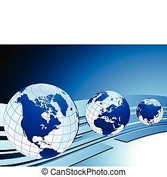 Ilustración de vectores originales y mapas ideales para los conceptos de negocios