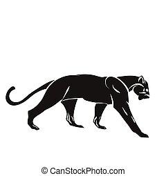 Ilustración de vectores tigre