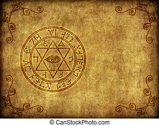 Ilustración del antiguo magik Sigil