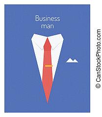 Ilustración del líder de los negocios