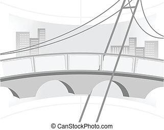 Ilustración del puente