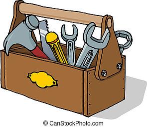 Ilustración del vector de herramientas