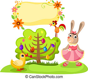 Ilustración del vector de Pascua