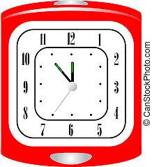 Ilustración del vector del despertador