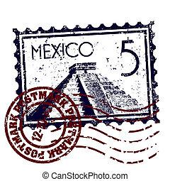 Ilustración del vector del icono de México aislado