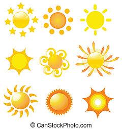 Ilustración del vector solar