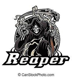 ilustración, grim reaper