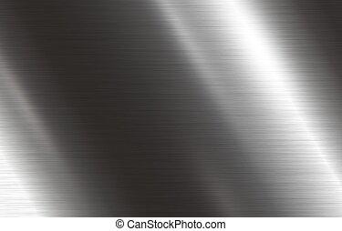 ilustración, metal, vector, plano de fondo, textura