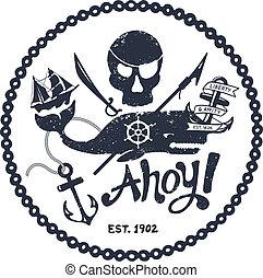 Ilustración náutica