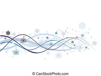 ilustración, navidad, plano de fondo, vector, diseño, feriado, su