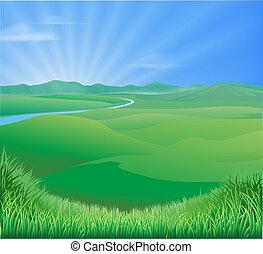 Ilustración rural