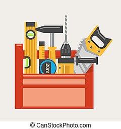 Ilustración vectorial de Toolbox