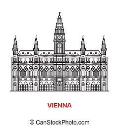 Ilustración vectorial de Viena