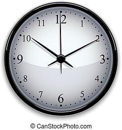 Ilustración vectorial del reloj.