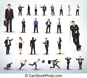 ilustraciones, empresarios