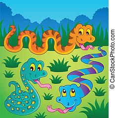 Imágenes con el tema de la serpiente 1