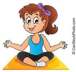 Imágenes con el tema de yoga 1