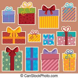 Imágenes con el tema del regalo 2