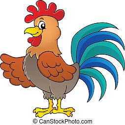 Imágenes con tema de gallo 1