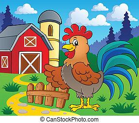 Imágenes con tema de gallo 2