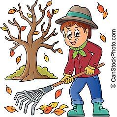 Imágenes con tema de jardinero 3