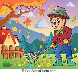 Imágenes con tema de jardinero 4