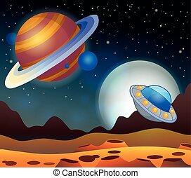 Imágenes con tema espacial 2