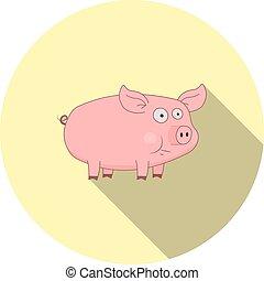 Imágenes de cerdo de dibujos animados