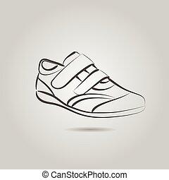 Imágenes de una bota masculina
