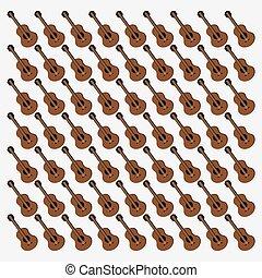 Imágenes del patrón de la guitarra
