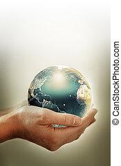 imagen, ambiental, conceptual, protección
