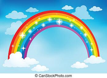 Imagen con el tema del arco iris 2