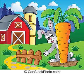 Imagen con tema de conejo 2