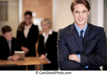 Imagen conceptual de un equipo de negocios