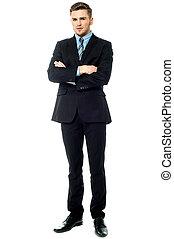 Imagen de un ejecutivo profesional