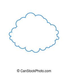 Imagen estilizada de nubes