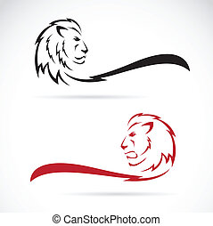 Imagen vector de un león