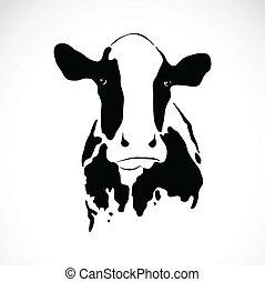 Imagen vector de una vaca