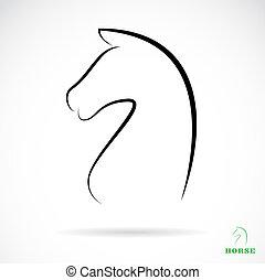 Imagen vectora de caballo