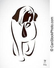 Imagen vectora de un perro