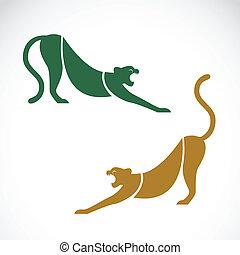 Imagen vectora de un tigre