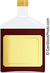 Imagen vectora de una botella