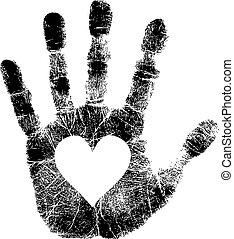 Imprenta con el corazón