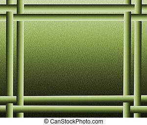 Impresionante fondo verde abstracto