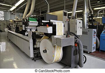 Impresiones industriales: impresión flexo de prensa