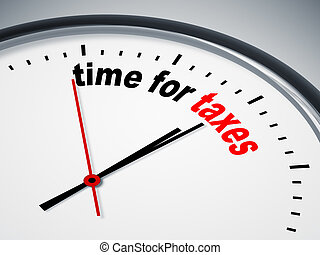 impuestos, tiempo