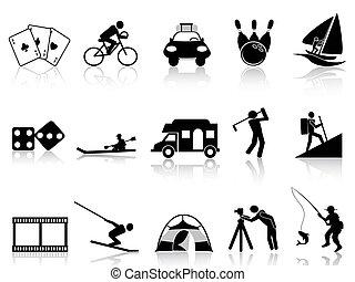 Inarios de ocio y recreación preparados