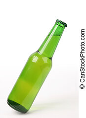 inclinación, botella de cerveza
