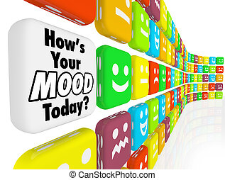 indicador, humor, emociones, sentimientos, cómo, su